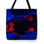 Swimming In Blue Coral Tote Bag