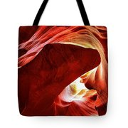 Swimming In Fire Tote Bag
