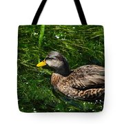 Swimming In The Grass Tote Bag