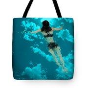 Swimming In The Sky Tote Bag