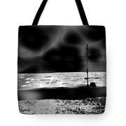 Swimming In The Storm. Tote Bag