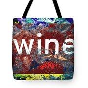 Swimming In Wine Tote Bag