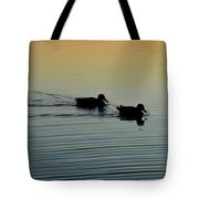Swimming Into Ripples  Tote Bag