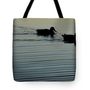 Swimming Into Ripples Two  Tote Bag