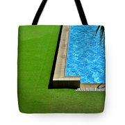 Swimming Pool Tote Bag by Silvia Ganora