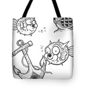 Swimming With The Fishes  Tote Bag