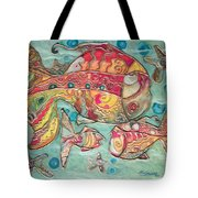 Swimming With The Stars Tote Bag