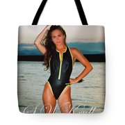 Swimsuit Girl Ad Tote Bag