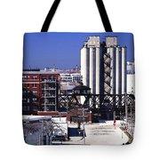 Swing Bridge At Erie And Polk Tote Bag