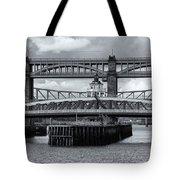 Swing Bridge Tote Bag