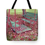 Swing Set Tote Bag