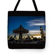Swingin Sunset Tote Bag