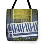 Swinging At The Cottage Tote Bag
