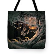 Swinging Through The Forest By Moonlight Tote Bag