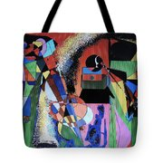 Swinging Trio Tote Bag