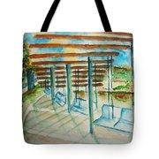 Swings At Smale Park Tote Bag