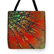 Swirl Barrel Cactus Tote Bag