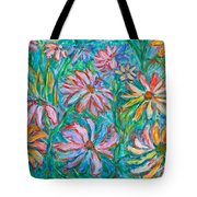 Swirling Color Tote Bag