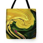 Swirling Colors Tote Bag