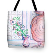 Curtain- Swirling  Tote Bag