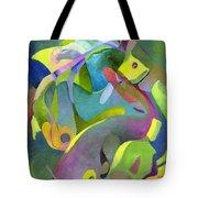 Swirling Fish Tote Bag
