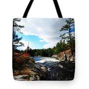 Swirling River Tote Bag