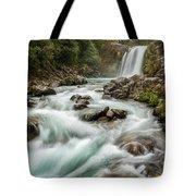 Swirling Waters - Tawhai Falls Tote Bag