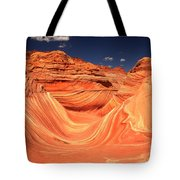Swirls And Buttes At The Wave Tote Bag