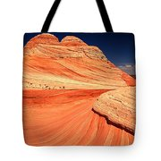 Swirls And Petrified Dunes Tote Bag