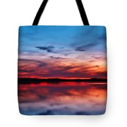 Swirls And Twirls At Twilight Tote Bag