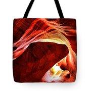 Swirls Of Fire Tote Bag
