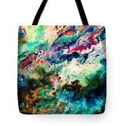 Swirls Of Paint Xii Tote Bag