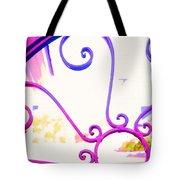 Swirls On A Gate Tote Bag