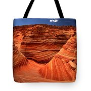 Swirls Waves And Buttes Tote Bag