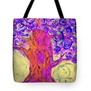 Swirly Tree Tote Bag