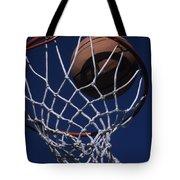 Swish.  A Basketball Tote Bag