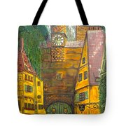 Swiss Birthday Party Tote Bag
