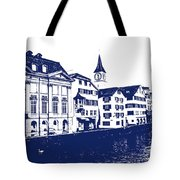 Swiss City Tote Bag