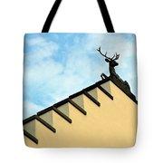 Swiss Deer On Zurich Rooftop Tote Bag