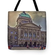 Swiss Federal Palace Tote Bag