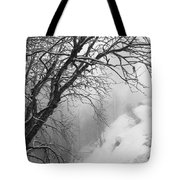 Swiss  Snow Fall Tote Bag