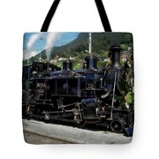 Swiss Steam Locomotive Tote Bag