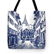 Swiss Street Tote Bag