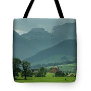 Switzerland Countryside Tote Bag