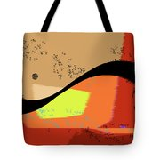 Swoosh, Abstract Tote Bag
