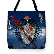 Sword And Shield Tote Bag