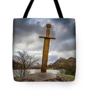 Sword Of Llanberis Snowdonia Tote Bag