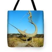 Swordfish Harpooner Tote Bag