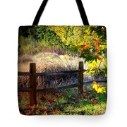 Sycamore Grove Fence 1 Tote Bag
