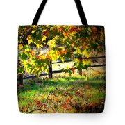 Sycamore Grove Fence 2 Tote Bag